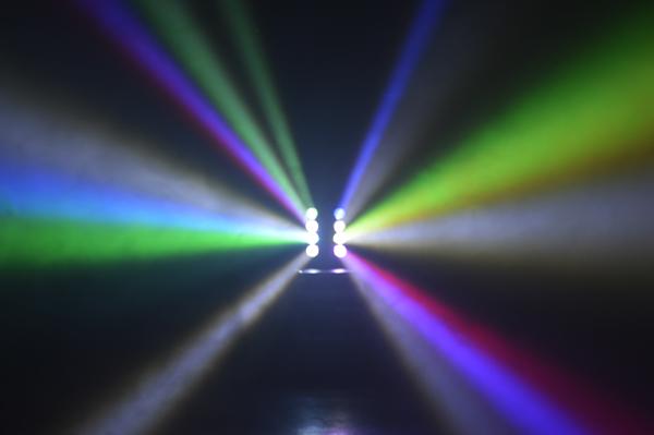 舞台照明 LS-LM80 ムービングヘッド DMX対応 RGBW サウンドモード搭載 LED ステージ ライト 演出 照明 機材 コンサート クラブ カラオケ パーティー