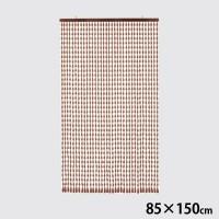 川島織物セルコン NOREN(のれん) 手作り 珠のれん 35連 85×150cm EE1513 BE・ベージュ