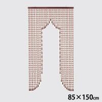 川島織物セルコン NOREN(のれん) 手作り 珠のれん 35連 85×150cm EE1514 BE・ベージュ