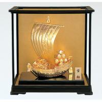 竹中銅器 150-03 置物「和風」 宝船 ゴールド