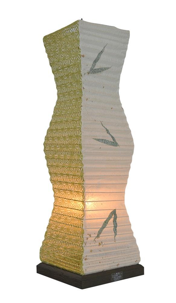 彩光デザイン TableLamp SS-3080 笹×麻葉萌葱