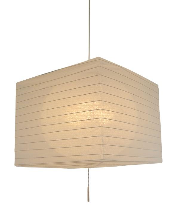 彩光デザイン 二重提灯 SPN3-1105 美濃和紙 銀流紙in春雨白