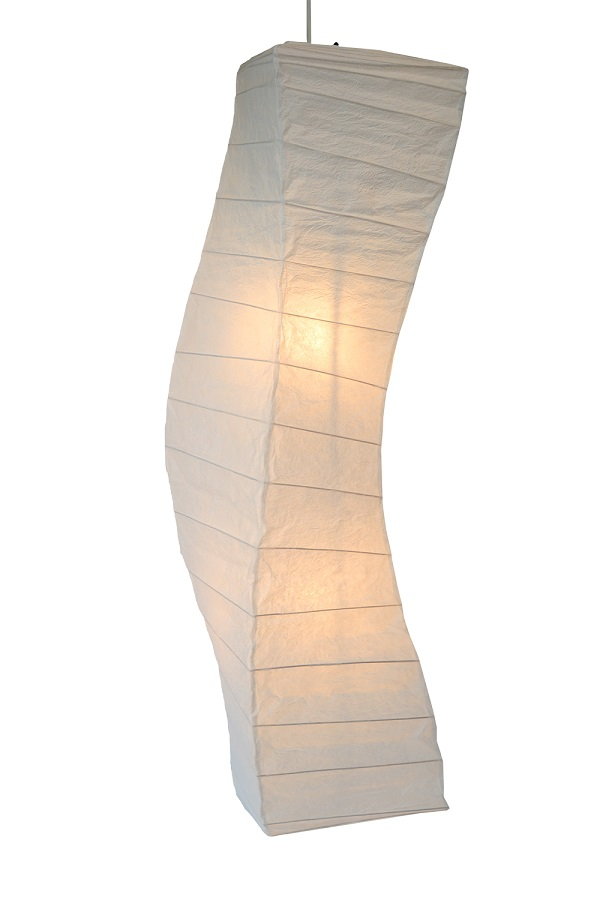 永遠の定番 中古 送料無料 彩光デザイン 大型照明 揉み紙 SDPN-202