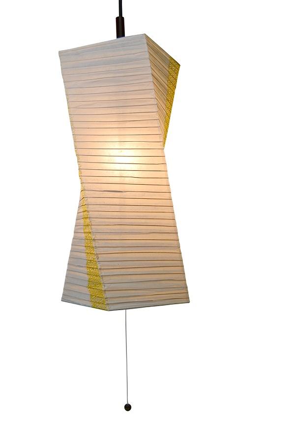 彩光デザイン PendantLamp SPN1-1004 楮紙茶×麻葉菜種