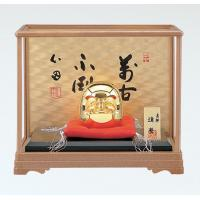 竹中銅器 148-11 置物「和風」 開運ダルマ