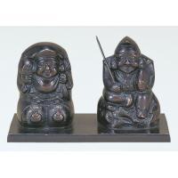 竹中銅器 台付 福の神 26-06