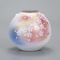 九谷焼 花瓶 7号 花の舞 AP2-1365