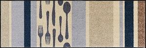 B017C wash+dry(ウォッシュアンドドライ)マット Cubierto(クビエルト) 60×180cm