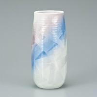 九谷焼 花瓶 8.5号 銀彩ひびき AP2-1310