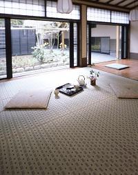 掛川織い草カーペット 水無月(みなづき) 江戸間8畳 348×348cm