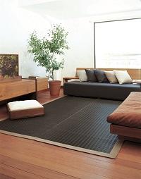 掛川織い草ラグ 粋(いき) 190×190cm