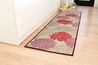 袋織 い草玄関&キッチンマット マム 95×190cm
