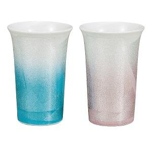 送料無料 日本全国 K5-1079 安い 激安 プチプラ 高品質 九谷焼 銀彩 ペアフリーカップ