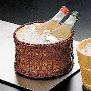 12655 冷酒クーラー(篭付)
