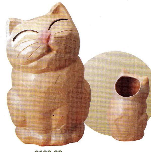 アニマル傘立 (SS-P6136-06)猫