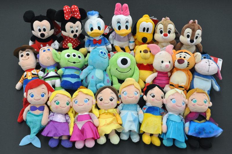ディズニー(Disney)ビーンズコレクション/リニューアル_フルセット(24P)