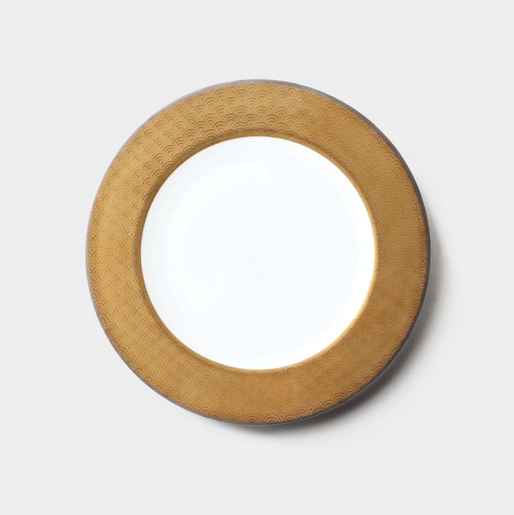 [NIKKO(ニッコー)]FORTUNE(フォーチュン)プレート21cmFINE BONE CHINA(ファインボーンチャイナ)NIKKO SINCE1908