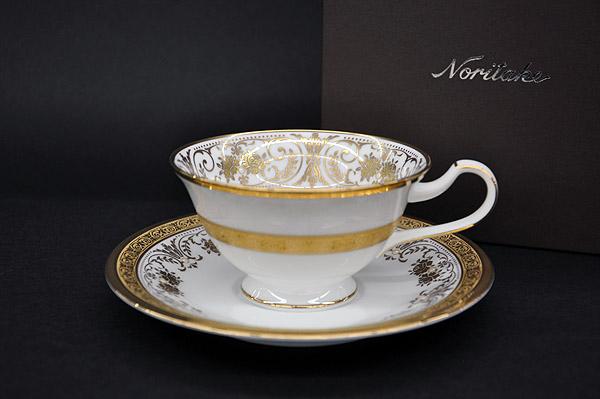 ノリタケ ~Noritake~ ティー・コーヒー碗皿(1客)カップ&ソーサージョージアンパレス(GeorgianPalace)