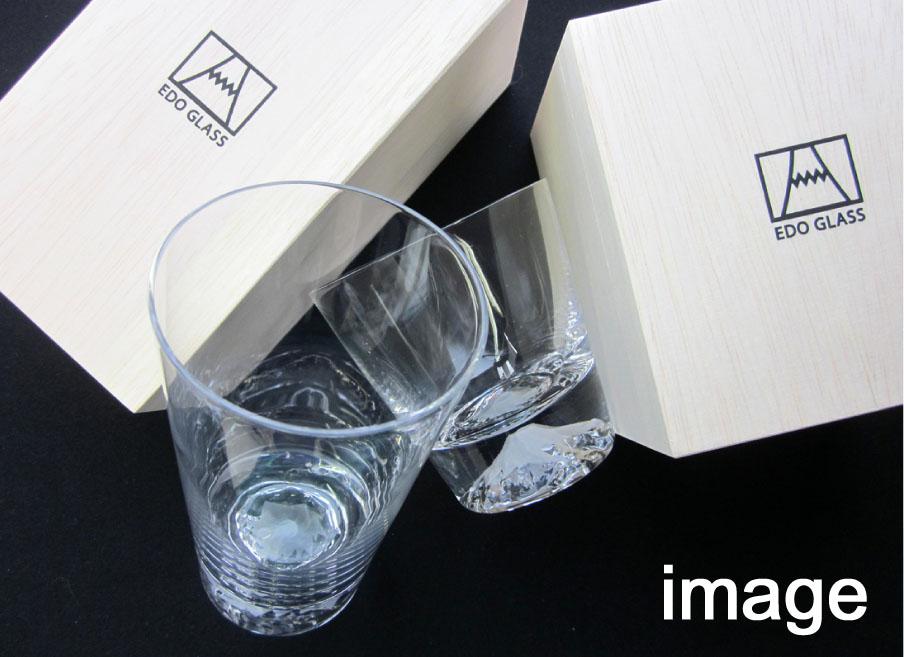 排除專案富士岩石玻璃玻璃 [運費] [田島玻璃],[江戶玻璃] [日本製造] 父親節