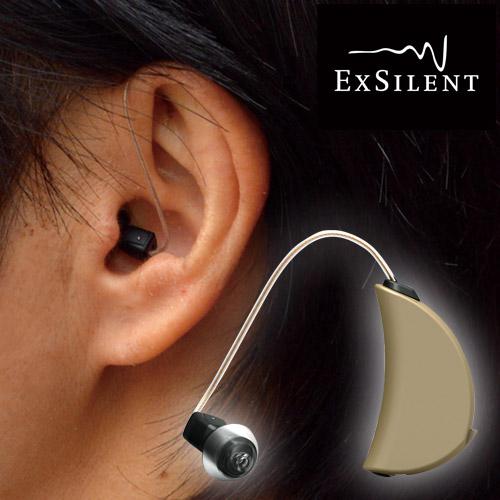 エクサイレント社 小型耳掛け式補聴器「YタンゴPro」 【小型 軽量 高性能 デジタル 補聴器 目立たない 集音器 エクスサイレント】【父の日 母の日 敬老の日】【送料無料】