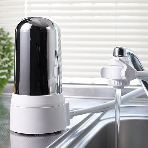 酸化還元方式「健康アクア浄水器」【長持ち 取り付けカンタン 電源不要 カートリッジ 蛇口 シャワー キッチン 台所用 浄水機イメンス】