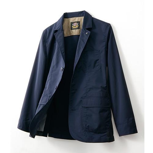涼感トラベルメッシュジャケット 【テーラードジャケット 夏 撥水 軽量 メンズ】【送料無料】