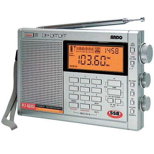 高感度シンセサイザーラジオ【PL7-468SL】【送料無料】