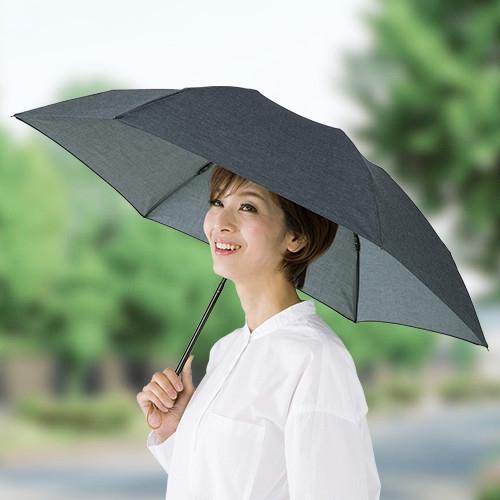 晴雨兼用 国産岡山デニム折りたたみ傘 【軽量 コンパクト 雨 晴れ メンズ レディース 男女兼用 日本製】