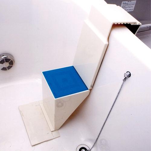 浴槽用ワンタッチステップ【お風呂 イス 台 座 】【送料無料】