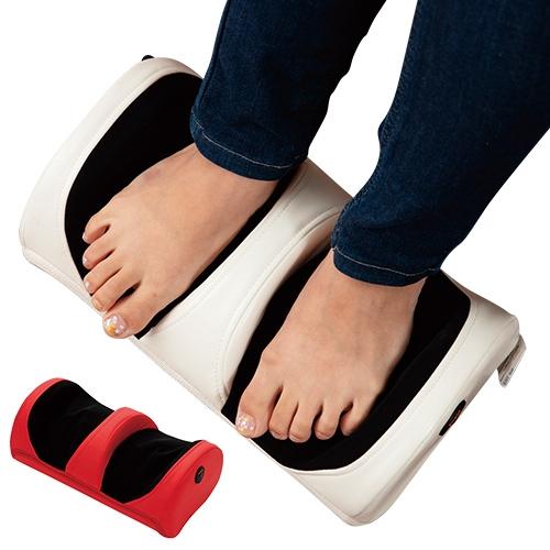 足用マッサージ器「足も~む」 【 小型 持ち運び マッサージャ 足 ふくらはぎ 】