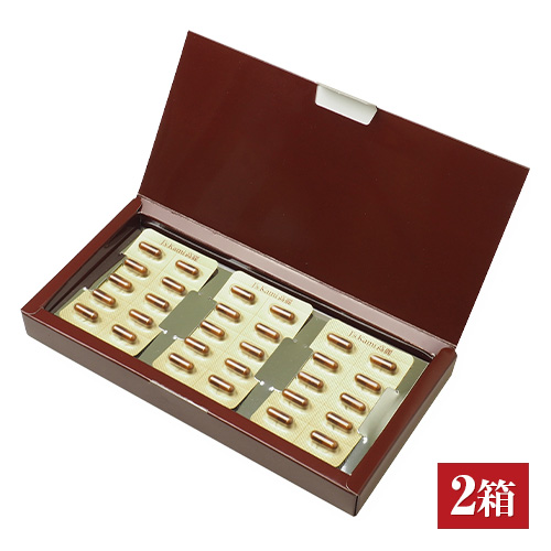 J's Kami 高麗30カプセル 2箱セット 【高濃縮紅参サプリメントJ's Kami高麗 ジンセノサイド 韓国 サプリ】【送料無料】