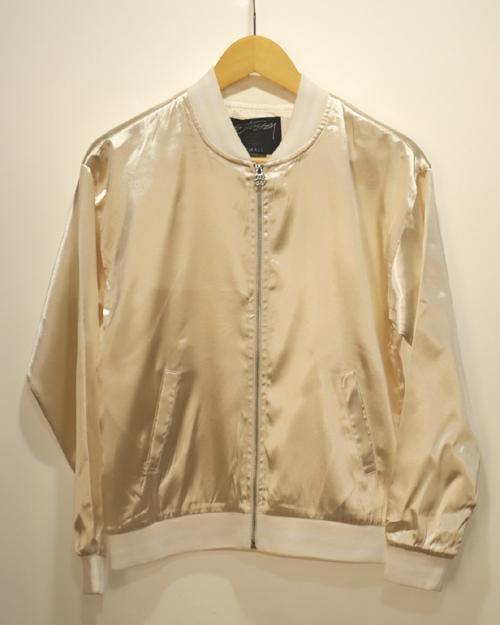 アメカジ ストリート UV CLOTHING STORE OVERLOCK 人気の製品 中古 STUSSY CRM 215039 ステューシーウィメン 刺繍 WOMAN S 即納 Jacket Tour