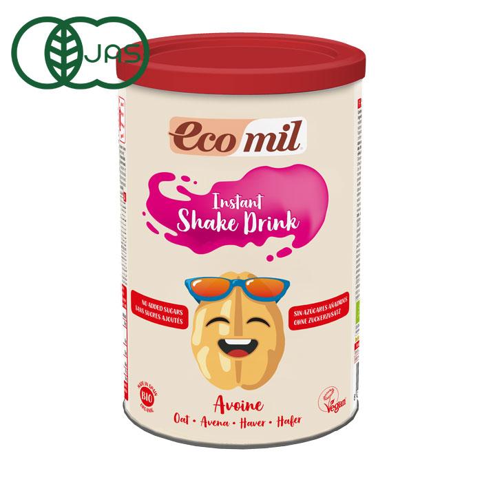 EcoMil(エコミル) 有機オーツ麦ミルク 糖類無添加/パウダータイプ