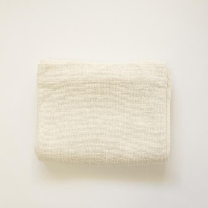 和紡布 ガラ紡のシーツ 145×240cm