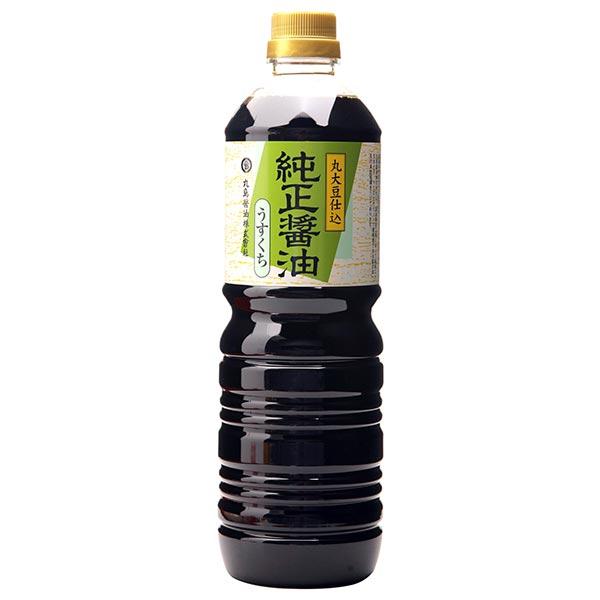丸島 純正醤油 淡口ペットボトル 1L