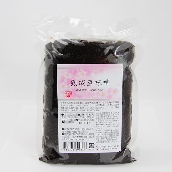 プレマシャンティ  熟成豆味噌 500g