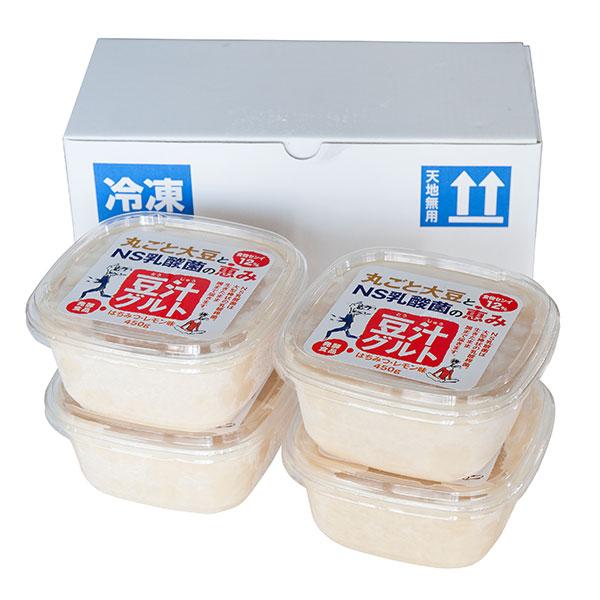 プレマラボ 授与 販売期間 限定のお得なタイムセール 豆汁グルト とうじゅうぐると はちみつレモン味 450g×4個セット