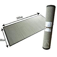 最高級寝ござ(こだわり備長炭縁タイプ) 88cm x 200cm