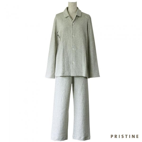 プリスティン ボーダーパジャマ Mサイズ レディス