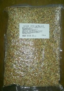 ウズラ穀物フード ドリームブレンド 1kg