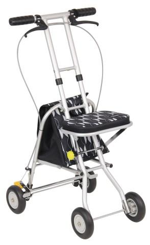 [シルバーカー] 幸和製作所 プチカ2 SLC08‐BK(折り畳み 軽量)【送料無料】