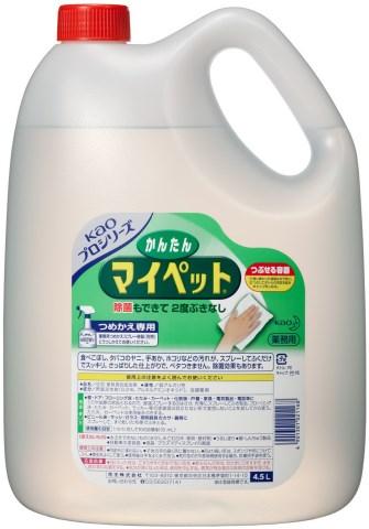 花王 プロシリーズかんたんマイペット4.5L ×12個セット [マイペット 洗剤]【送料無料】