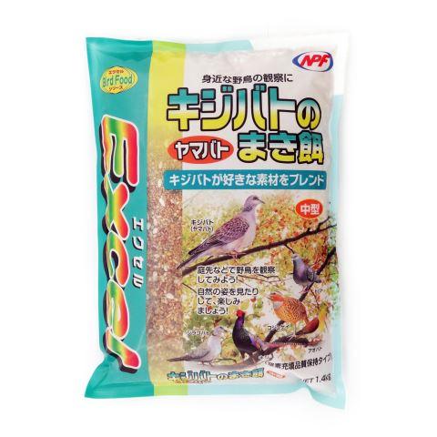 エクセル キジバトのまき餌 1.4kg/小鳥 フード 餌 エクセル キジバトのまき餌 1.4kg[鳥 小鳥 フード 餌]