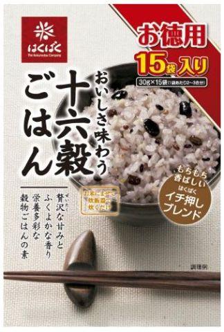 お米に混ぜて炊飯器で炊くだけ 大幅にプライスダウン 供え お得用サイズの十六穀ごはん はくばく十六穀ごはん450g 30g×15袋
