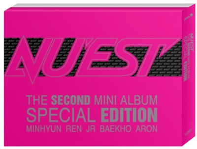【中古】NU'EST 2nd Mini Album: Special Edition [CD+DVD+写真集]z10【レンタル専用DVD】