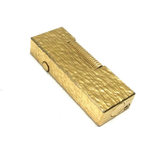 ダンヒル dunhill ローラガス ライター 喫煙具 ゴールド 金 SSAW メンズ 【中古】【ベクトル 古着】 180612 VECTOR×Refine