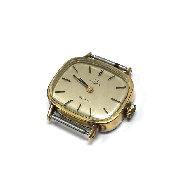 オメガ OMEGA DE VILLE デビル 511.413 手巻き 腕時計 ウォッチ 動作確認済 ゴールド 金 アンティーク SSAW レディース 【中古】【ベクトル 古着】 190225 VECTOR×Refine