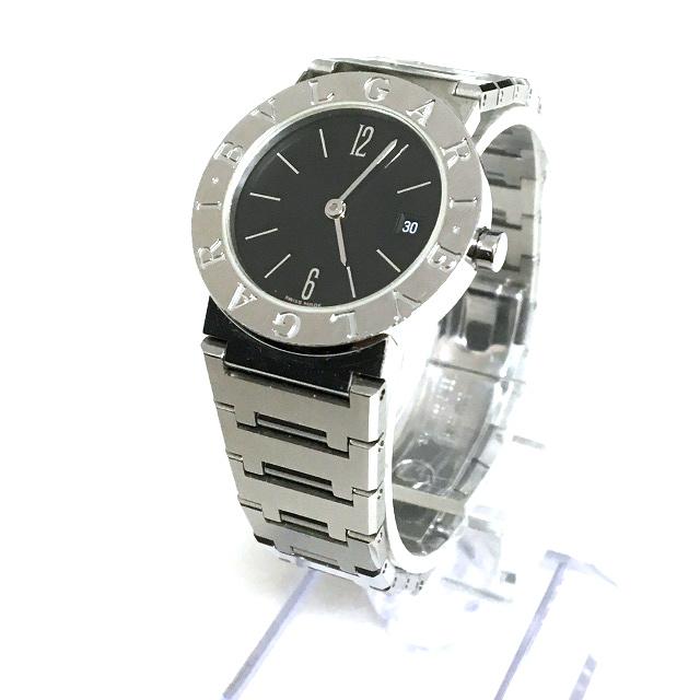ブルガリ BVLGARI BB26SS ブルガリブルガリ クオーツ 腕時計 ウォッチ ブラック/シルバー 銀 黒 SSAW レディース 【中古】【ベクトル 古着】 190210 VECTOR×Refine
