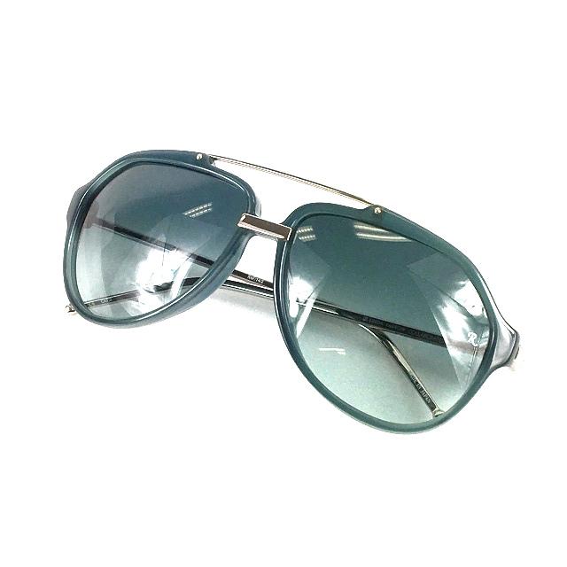 ラフシモンズ RAF SIMONS LINDA FARROW リンダ・ファロー サングラス 眼鏡 メガネ ブルー系 青 春夏 メンズ 【中古】【ベクトル 古着】 190226 VECTOR×Refine