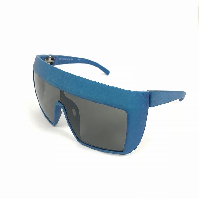 マイキータ MYKITA MYLON NOVA サングラス 眼鏡 ブルー 青 MD10-MALIBUBLUE GREY SOLID col.310 メンズ 【中古】【ベクトル 古着】 180729 VECTOR×Refine